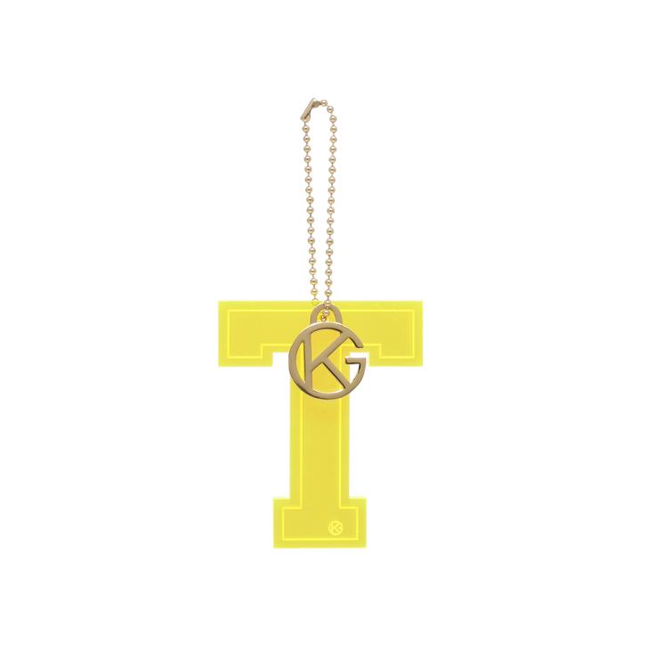 ef6ebe9b961 Letter T Charm Yellow Letter Bag Charm By Kurt Geiger London | Kurt Geiger