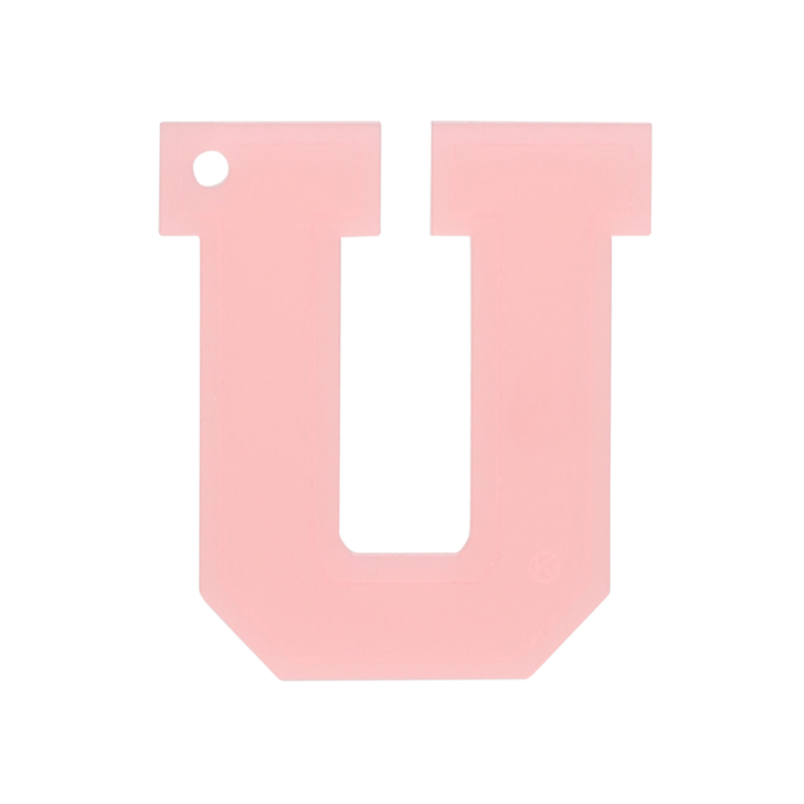 Balloon – 34″ Letter U (PINK) |The Letter U In Pink