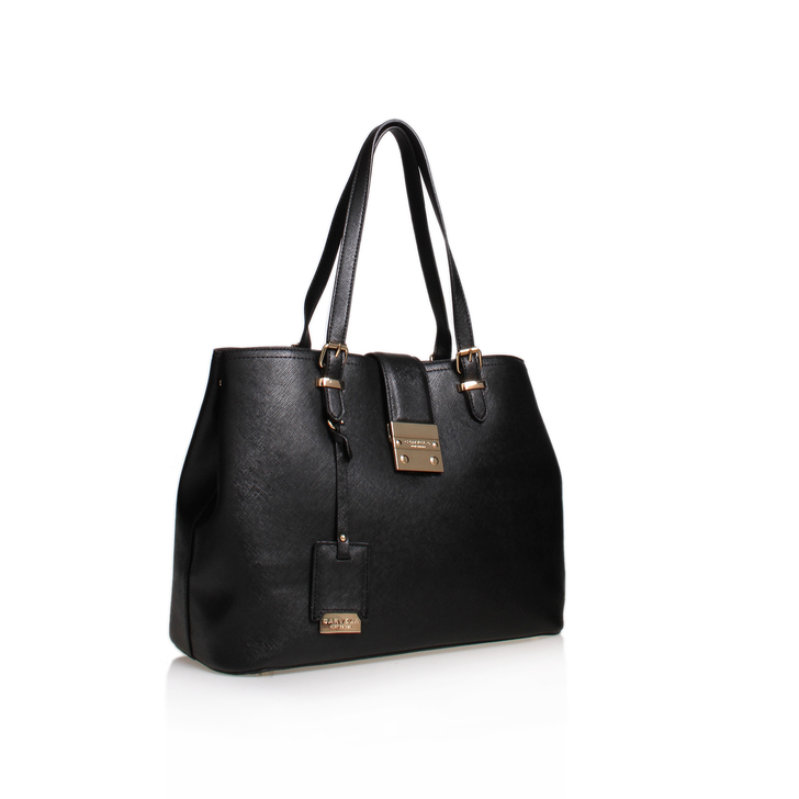 MANDY LOCK SLOUCH TOTE