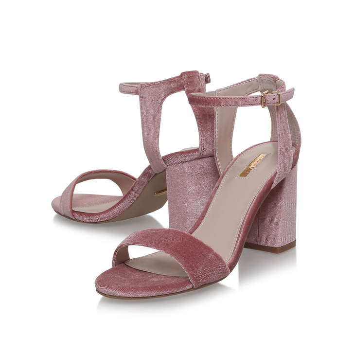 4bfa41814a2 Gigi Nude Mid Heel Sandals By Carvela