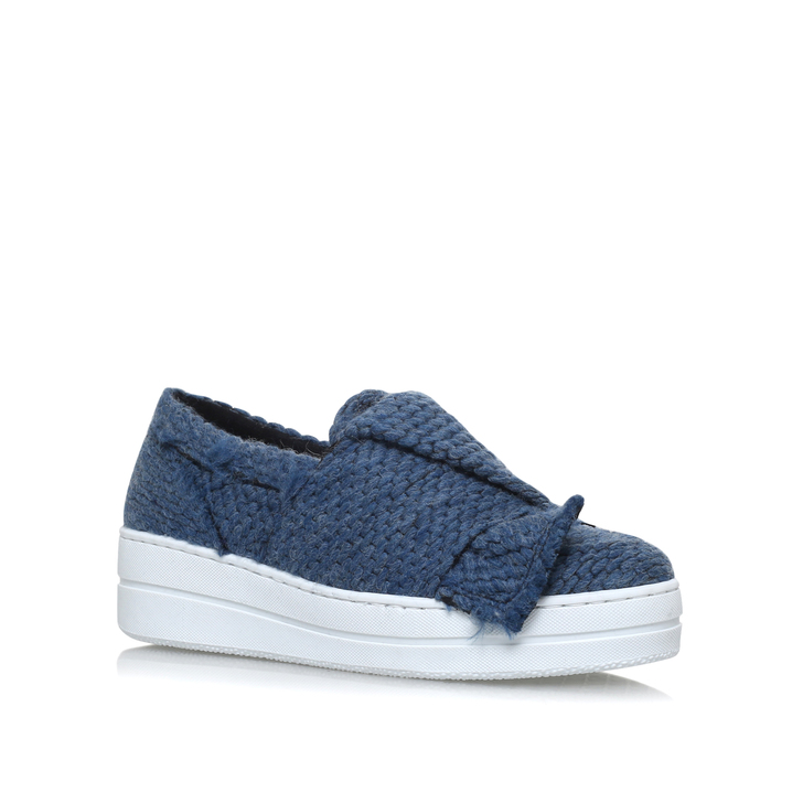 Kurt Geiger Blue Suede Shoes 5