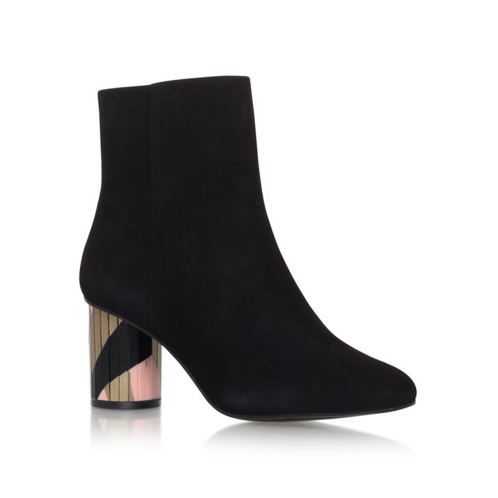 Noble Black Suede Boots