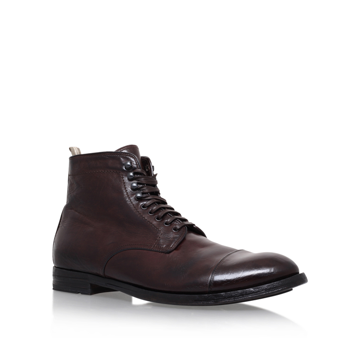 TOECAP LACE BOOT