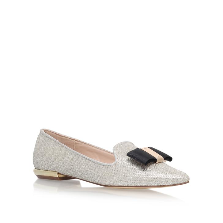 e09137acd Major Silver Flat Loafer Shoes By Carvela   Kurt Geiger