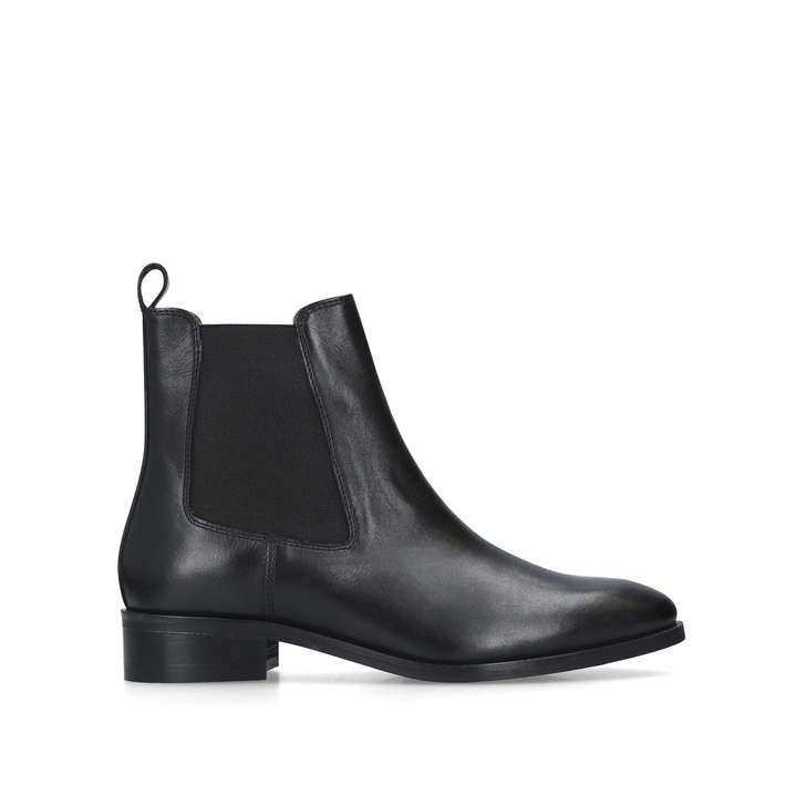 425b82c4f Dalby Black Leather Chelsea Boots By Kurt Geiger London