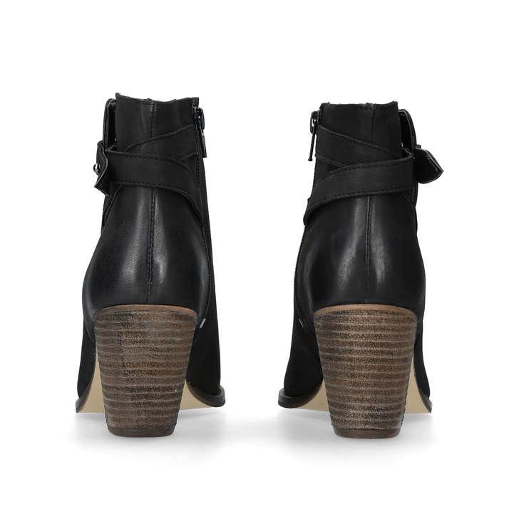 edf8a998e62 Smart Black Block Heel Ankle Boots By Carvela | Kurt Geiger