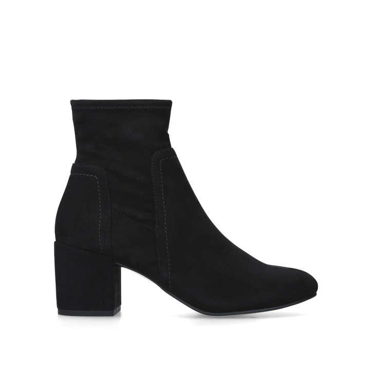 Black 'Jemima' mid heel zip up ankle boot get authentic sale online XfLv6Jj
