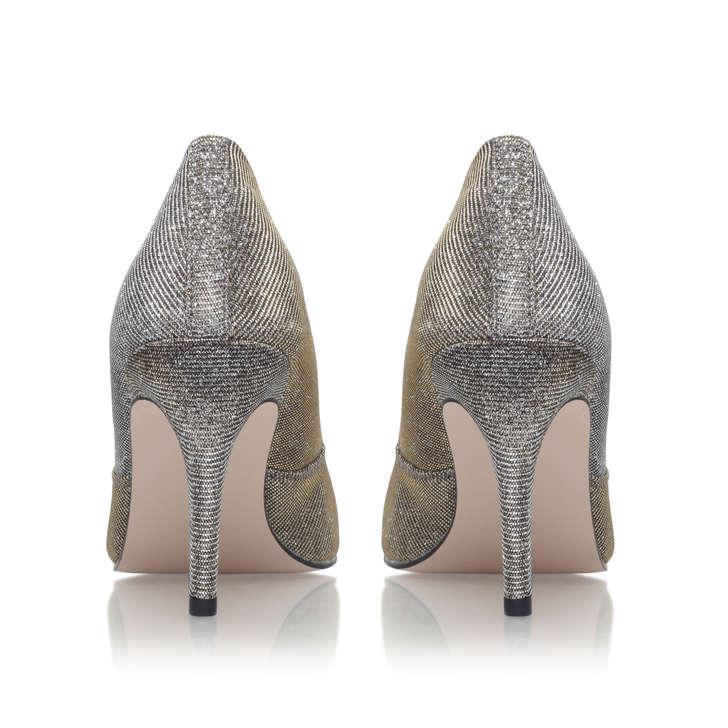 c35ca135f9b Savannah Bronze Mid Heel Court Shoes By Miss KG