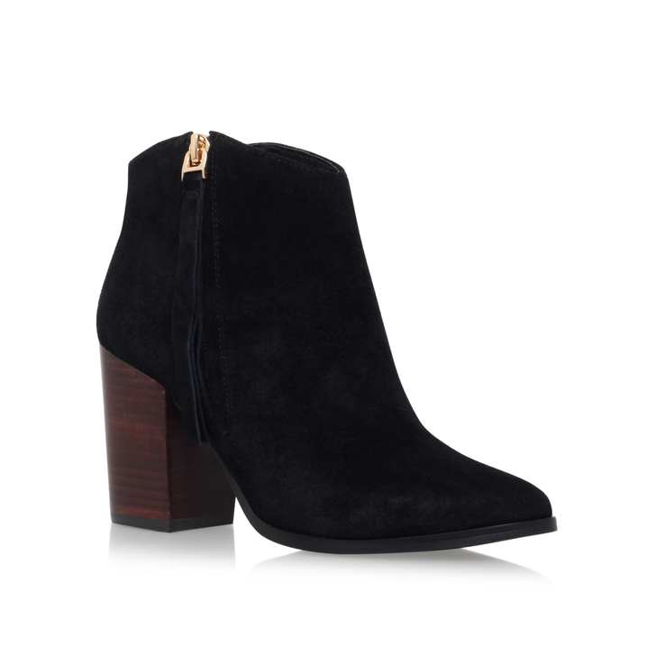 Carvela Smashing - black mid heel ankle boots Discount High Quality cnM1C