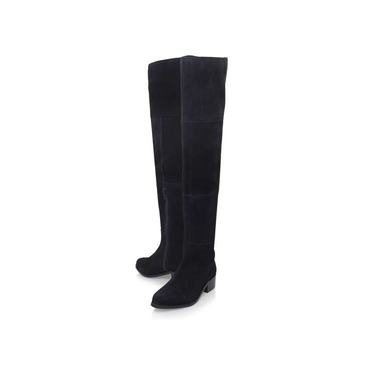 Carvela Suede Knee High Flat Boot 3k6FQamdHP