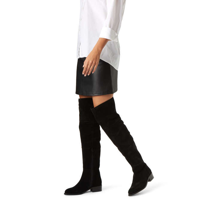 Point Black Flat Over The Knee Boots By Carvela Kurt Geiger ndlXitOw