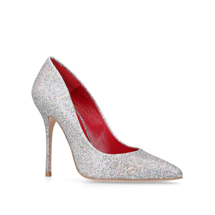Kurt Geiger Ellen - silver high heel court shoes Discount Inexpensive 8E4N6KHIh