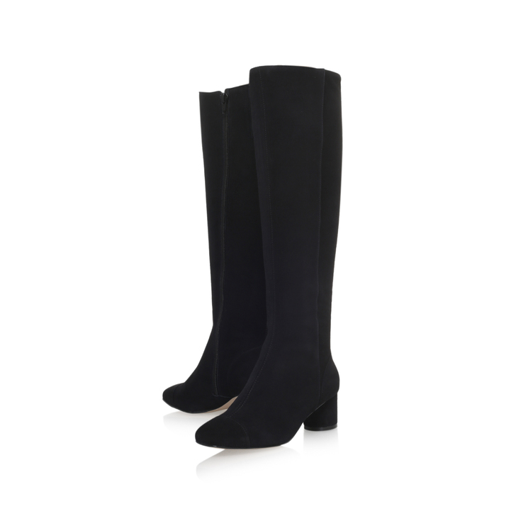 Recommend Kurt Geiger Tina - black mid heel knee boots Clearance Pictures 7o0y9Vc