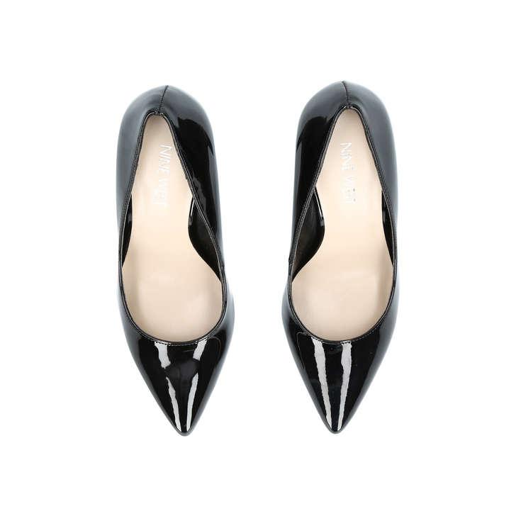 e2b78515f0 Flagship Black Mid Heel Court Shoes By Nine West | Kurt Geiger