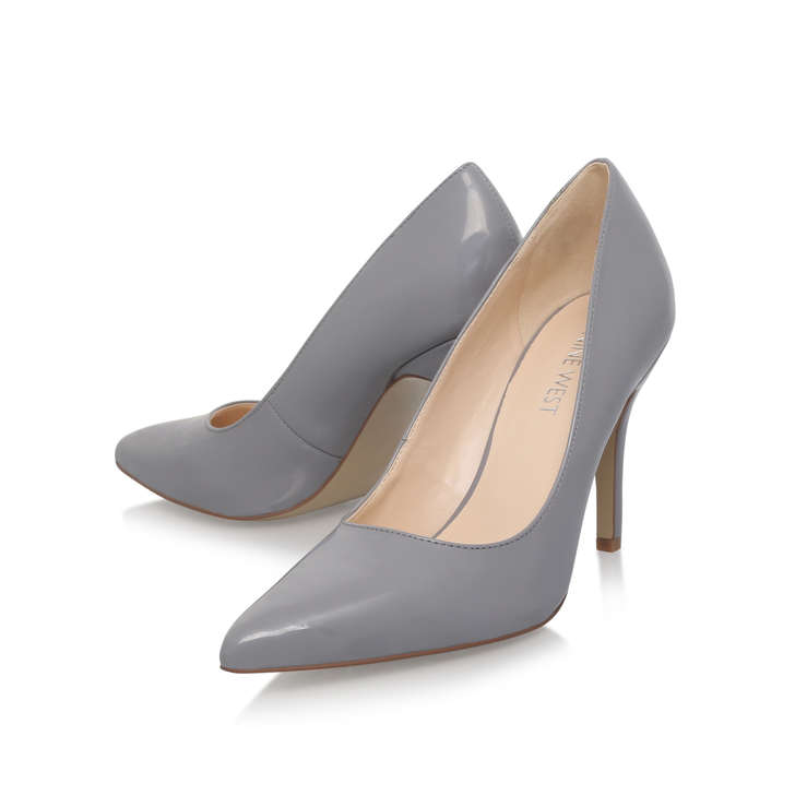 ef91be3bc72 FLAGSHIP Grey Mid Heel Court Shoes by NINE WEST