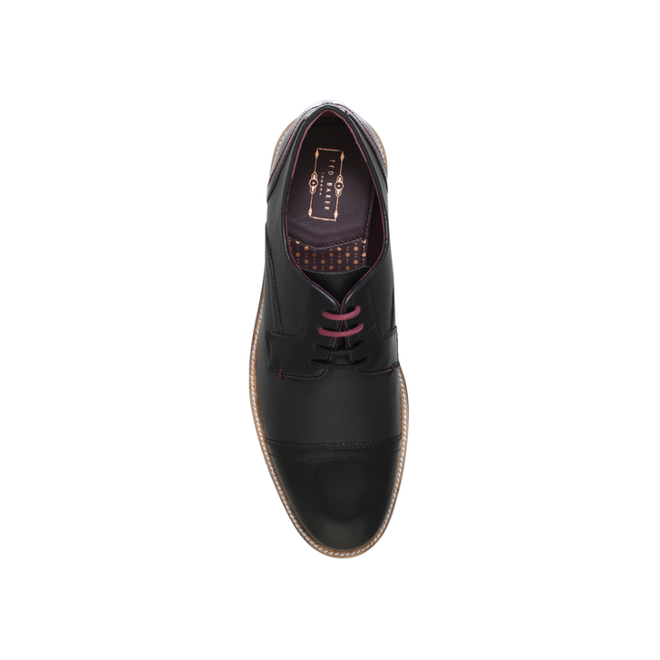 23bc29afa Braythe Tc Derby Black Lace Up Shoes By Ted Baker