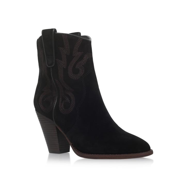 ba49f4434801 Joe Black Mid Heel Ankle Boots By Ash