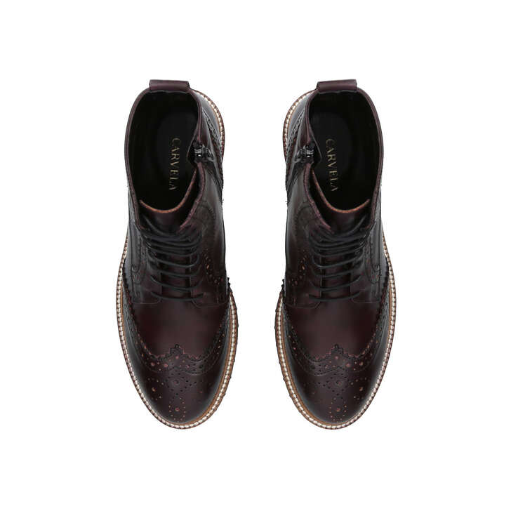 CLOSING DOWN SALE CARVELA BROWN BOOTS UK 6  EU 39 ANKLE LEATHER