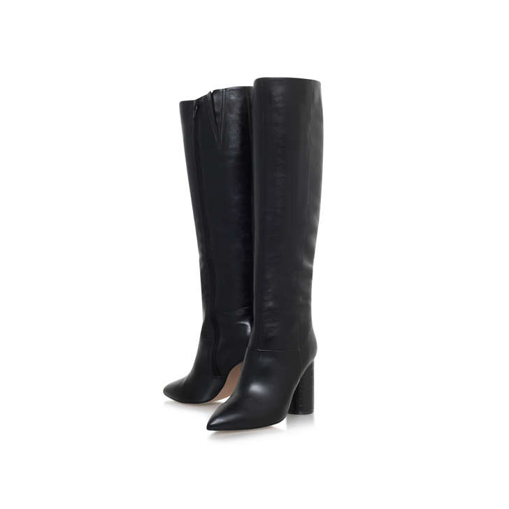 Kurt Geiger Trance - wine high heel knee boots