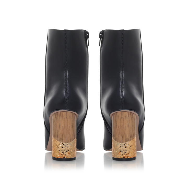 Kurt Geiger Raffle - black mid heel calf boots Exclusive Online Lowest Price Sale Online Buy Cheap Perfect D39V1bNFj9
