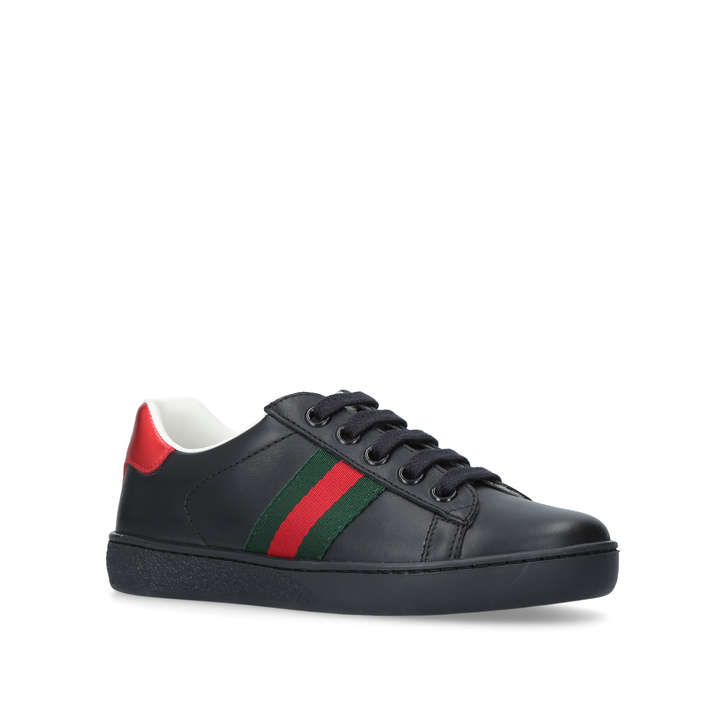gucci kids shoes. New Ace Black Low Top Trainers From Gucci Kids Shoes